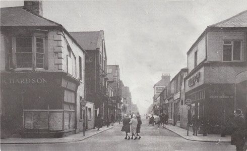 Newton Street circa 1965 from the western end connection with Linthorpe Road looking towards Russell Street