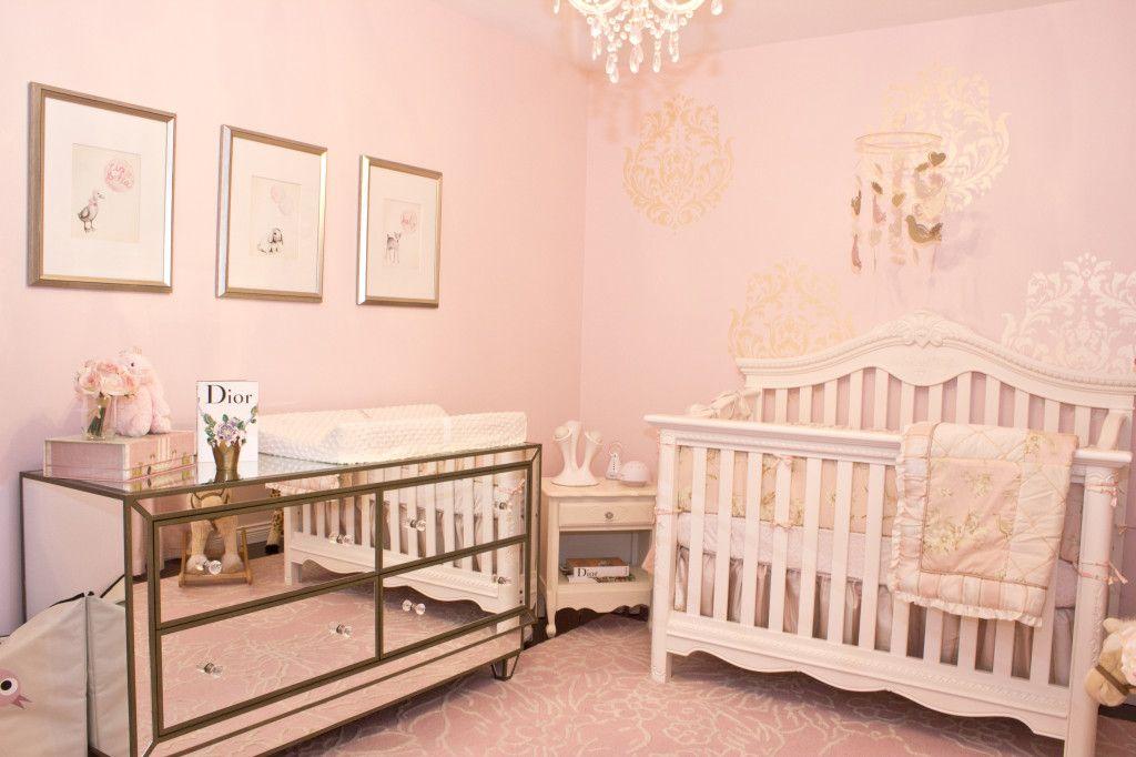 Gold Nursery Bedding