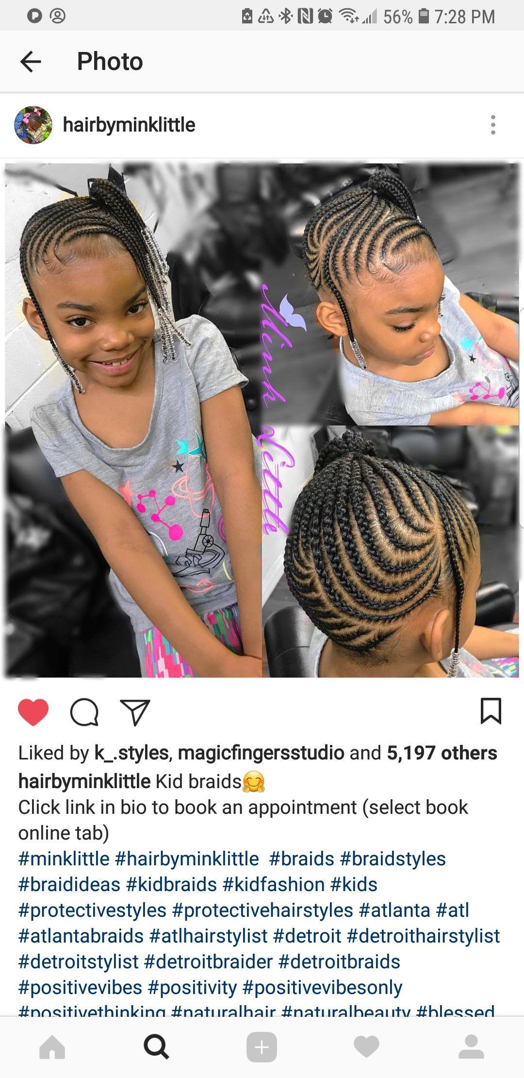 For Kk Little Black Girls Braids Girls Hairstyles Braids