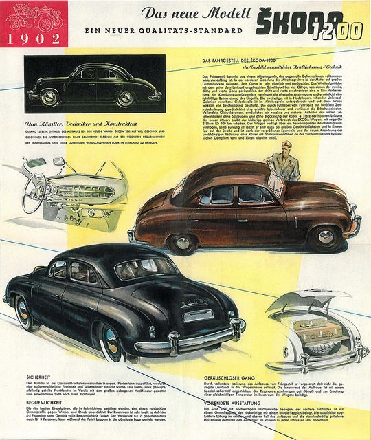 Volvo Cars Motorsport History Reflected At Techno: VALUTA, Sketch Of A Car Concept For Minister Kopecký (1953