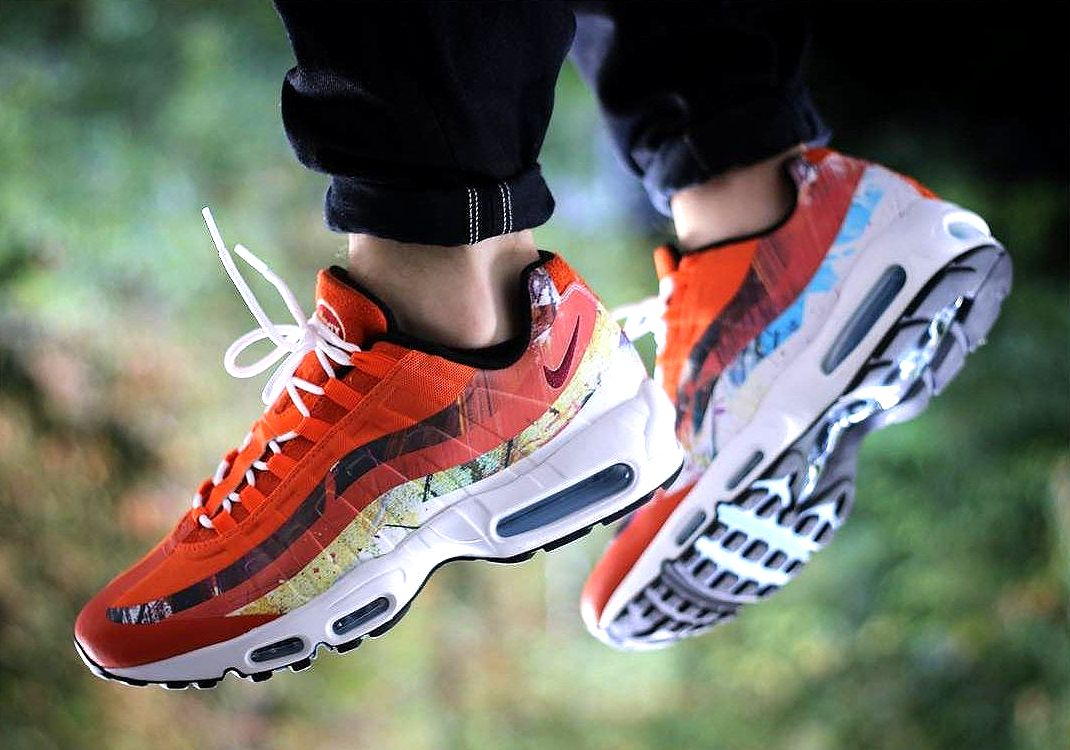 huge selection of 628e9 c49db Size? x Dave White x Nike Air Max 95 post image | Big Drip ...
