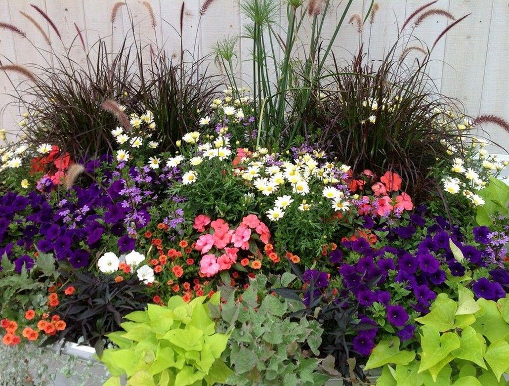 Florida Home Gardens | Container Flower Gardening In ...