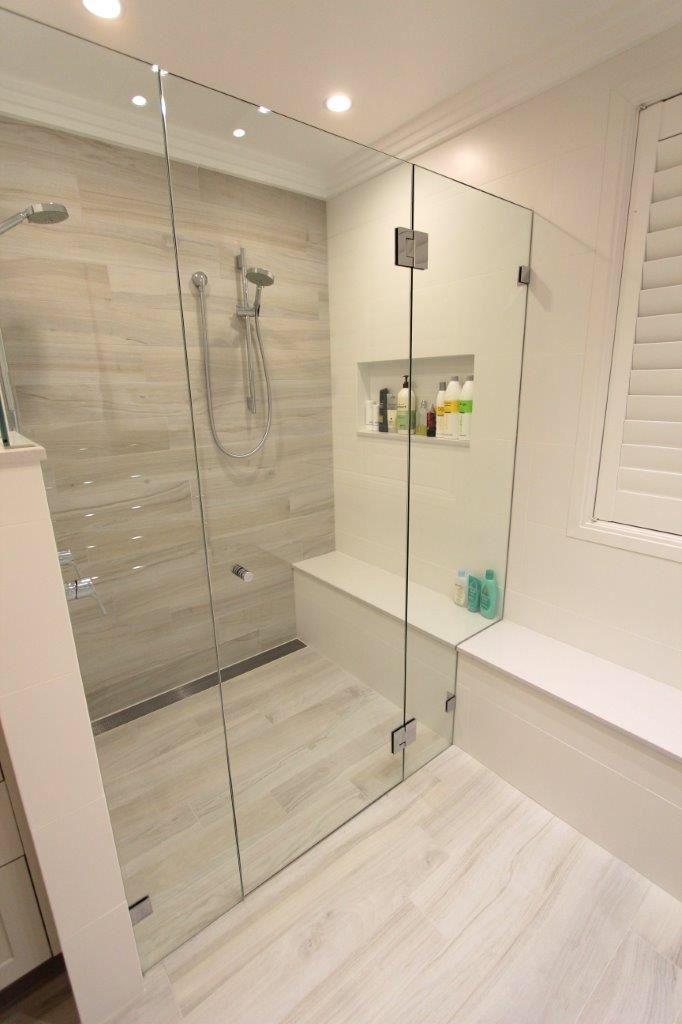 pinkim gleason on bathroom reno ideas  tile bathroom