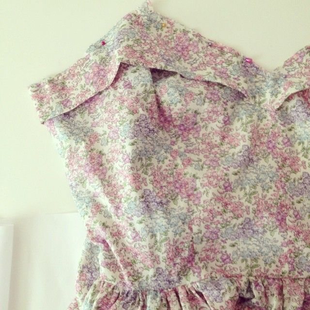 Lili dress in lovely Liberty print well on it's way- a birthday gift to myself