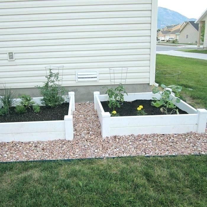Vinyl Garden Bed Raised Corner Brackets #vinyl #gardenbeds