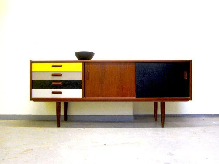Mid Century Modern Furniture Painted   Google Search