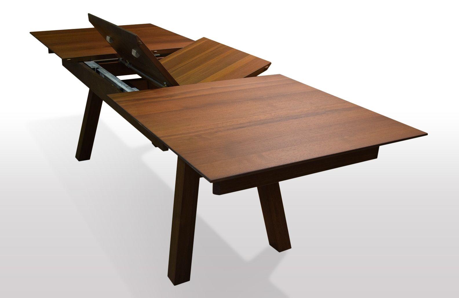Tisch Nussbaum massiv Breite 90cm / Länge wählbar