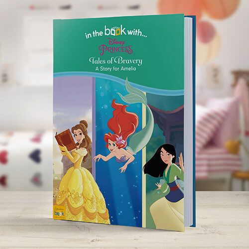 Disney Princess Tales of Bravery Personalized Childrens Book - Custom Princess Book From I See Me!