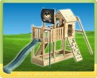 Klettergerüst Draußen : Wickey klettergerüst spielturm captain hook´s ship sommer