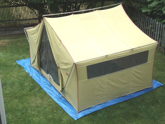 The Family Tent - Coleman Vagabond & The Family Tent - Coleman Vagabond | Family vacation | Pinterest ...