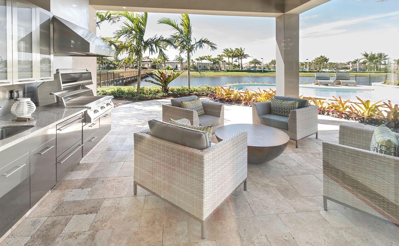 High End Outdoor Kitchen Cost Modern