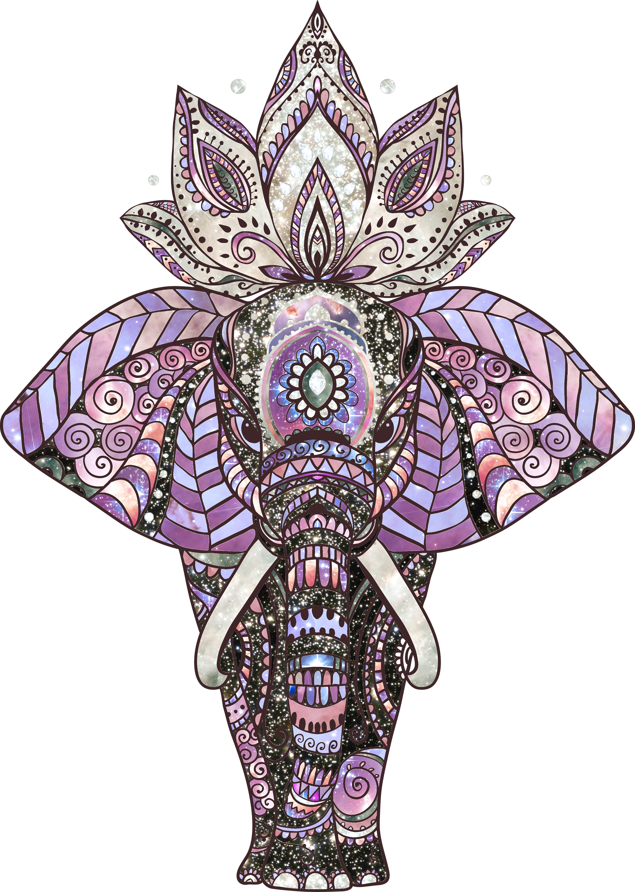 better factory outlet official shop Cosmic Elephant Ⓒ PiecesOfAndromeda.com en 2019   Elefantes ...