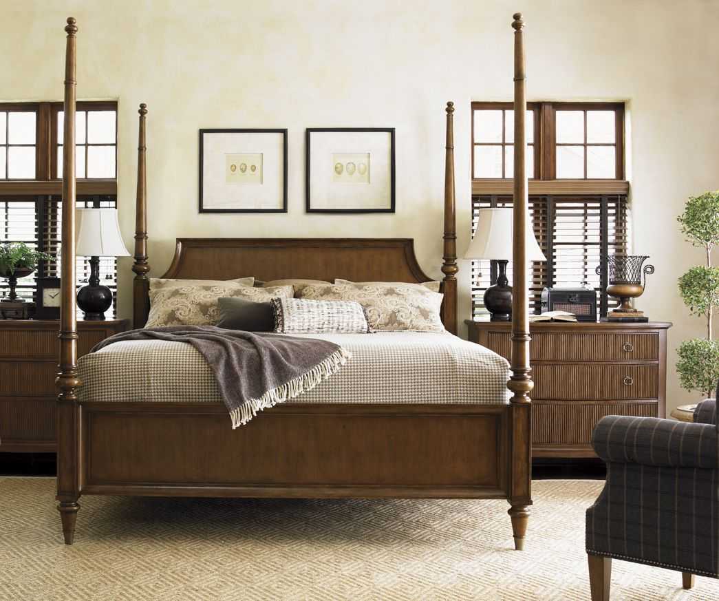 Lexington Bedroom Furniture Versatile Four Poster Bed From Lexington Furniture Converts To