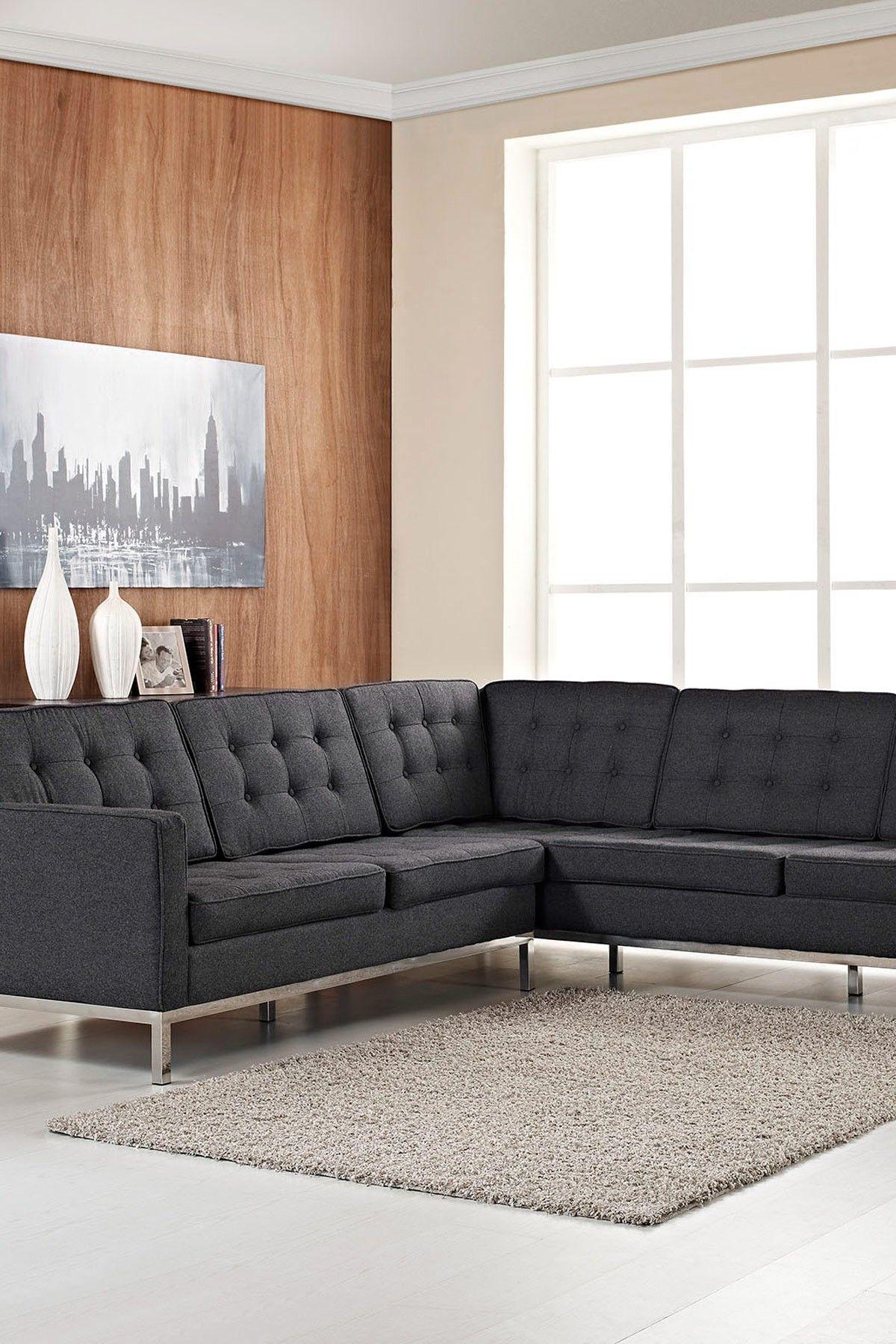 Loft L-Shaped Sectional Sofa