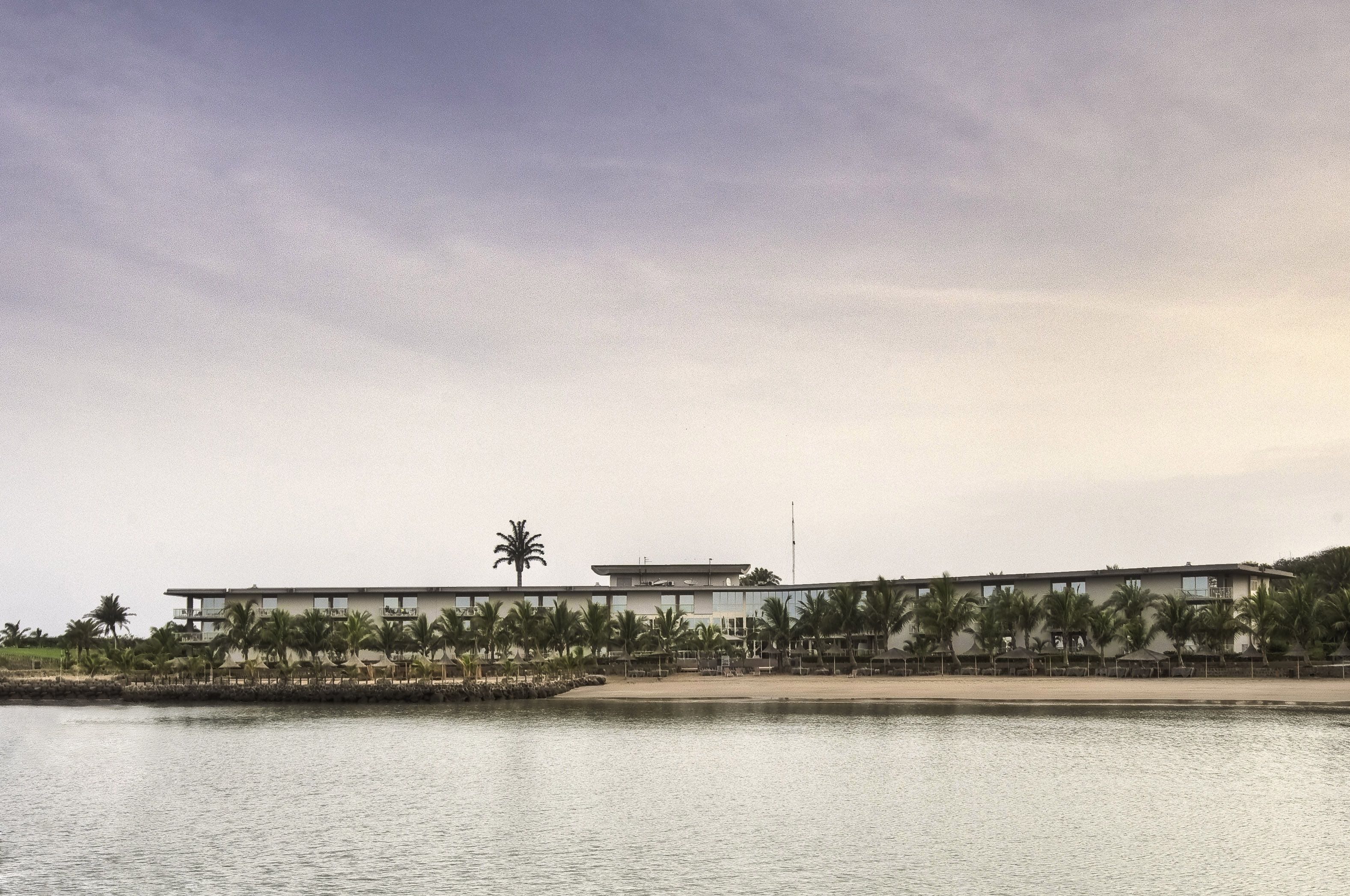 Daytime Front View Of Terrou Bi 5 Stars Hotel In Dakar