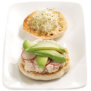 6 Simple Sandwich Makeovers: Pair Avocado With Tuna Salad or Sharp Cheeses   CookingLight.com