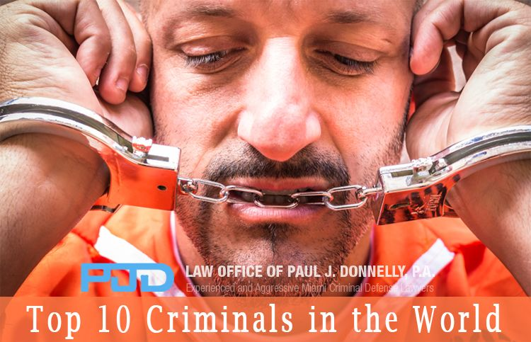 The Top 10 Criminals In World