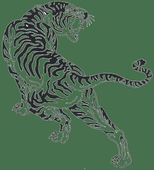 Tiger Png Effect Tiger Free Png Images Sak Yant Tiger Desenhos De Cobras X Tatuagem