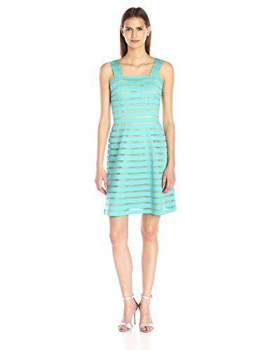 ADRIANNA PAPELL Womens Dress size 14, blue/navy
