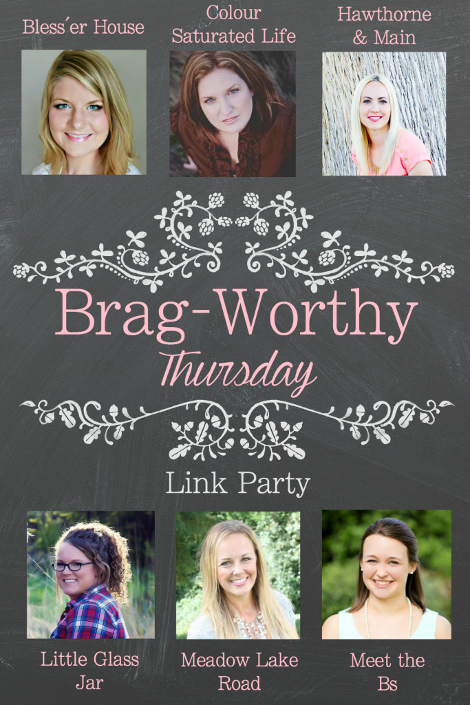 Brag-Worthy Thursday Link Party + $100 Target Giveaway - Bless'er House