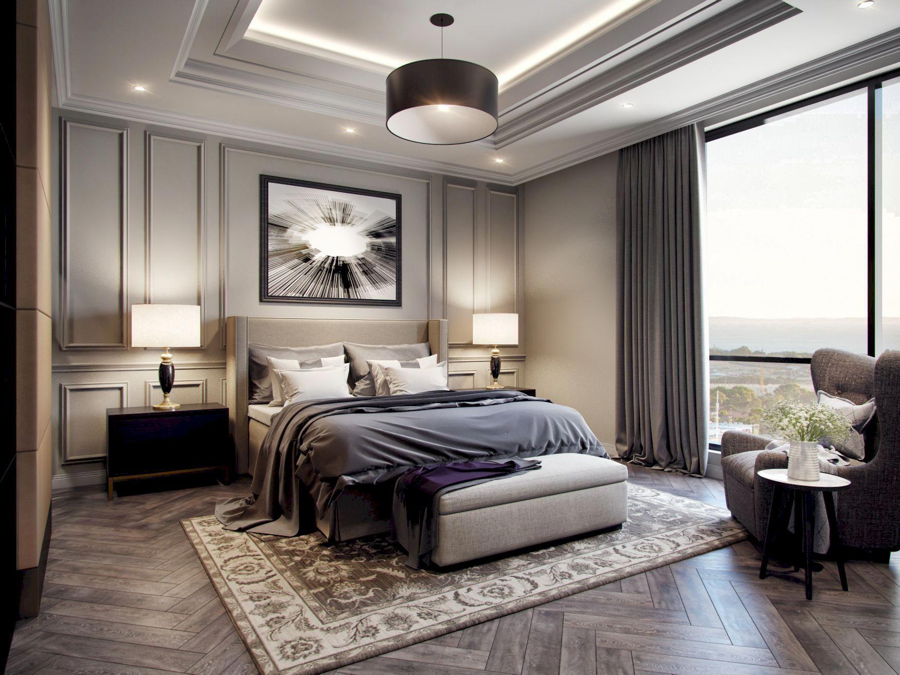 48 impressive classic modern bedroom design ideas luxury on home interior design bedroom id=57507