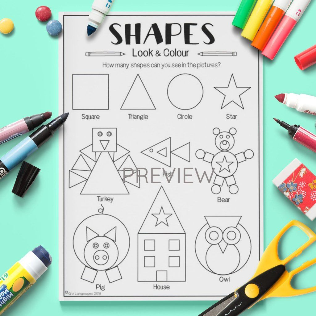 Shapes Look Amp Colour