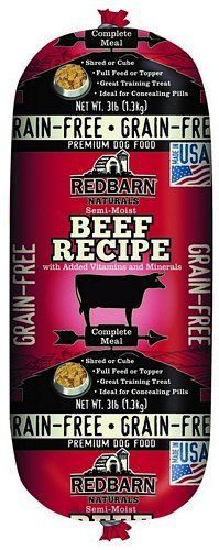 Redbarn Grainfree Rolled Dog Food Beef 3 Lbs With Images Dog