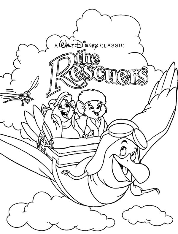 Walt Disney Classic The Rescuers Coloring Pages Coloring Sun Disney Coloring Pages Coloring Pages Cartoon Coloring Pages
