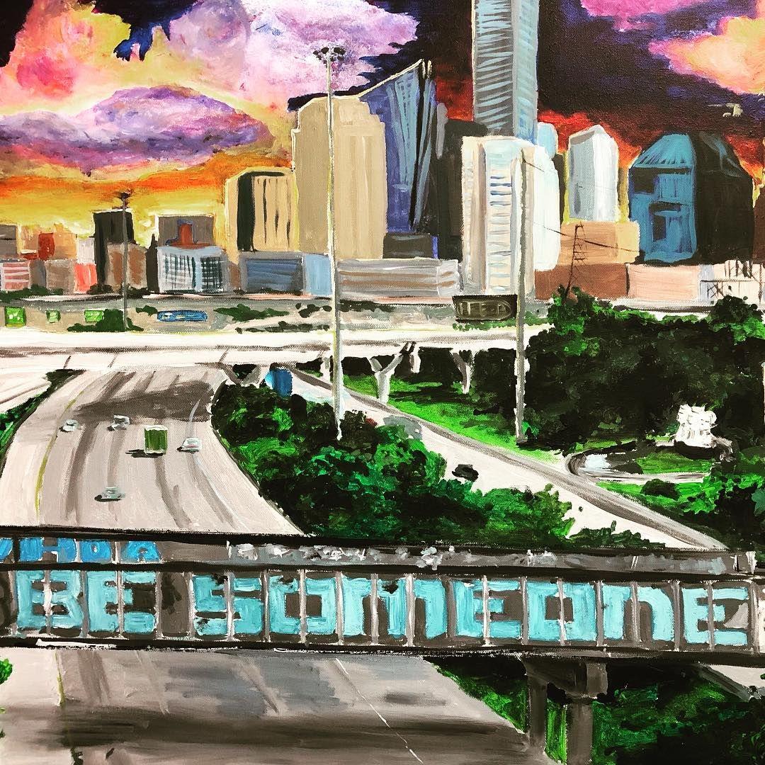 Houston be someone painting texas art painting