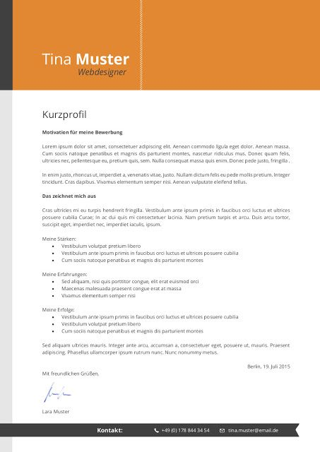 Bewerbungsmuster Premium 2019 Resume Templates Click Picture For