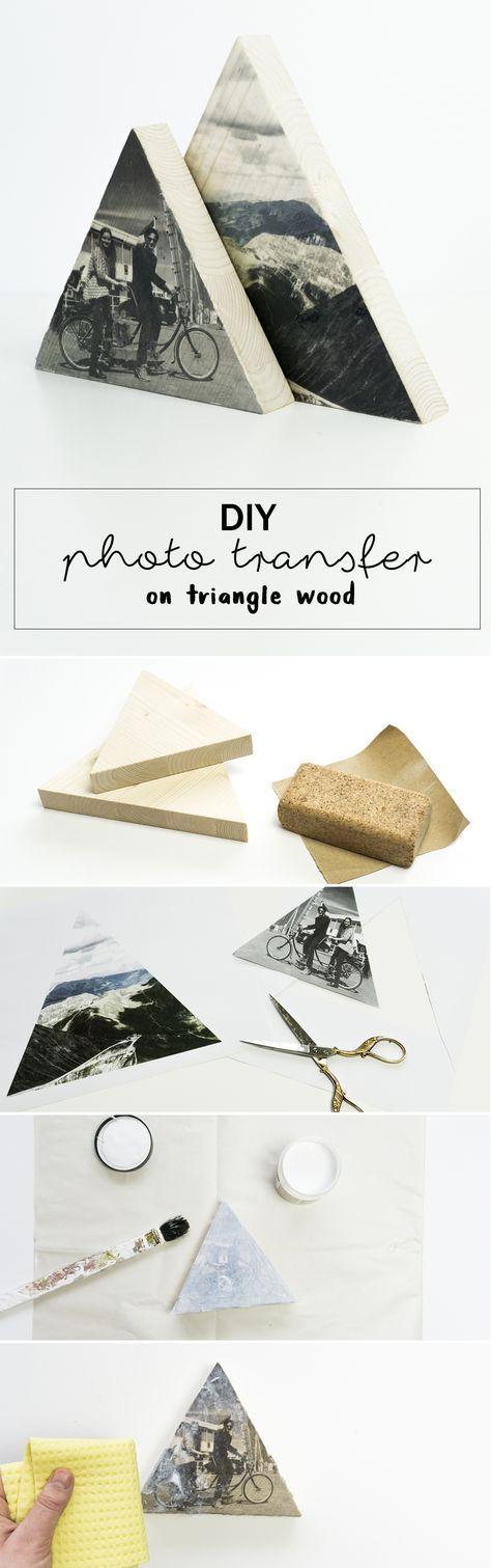 Foto auf Holz DIY - so gelingt es!   schereleimpapier DIY