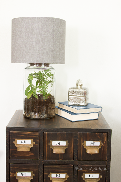 Easy DIY Terrarium Lamp | Diy terrarium, Terraria and Pretty bedroom