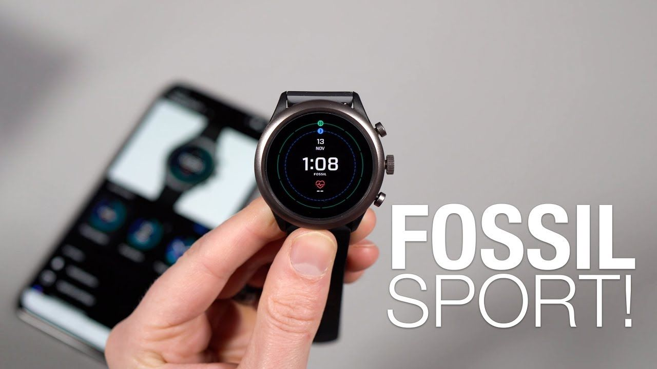 Smart Watch FOSSIL SPORT Unboxing and First Look! Digital