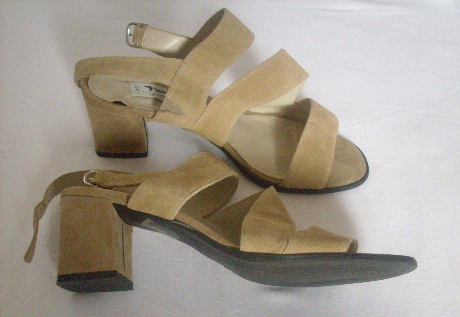 Krásné kožené pohodlné sandálky   www.secondhand1.cz