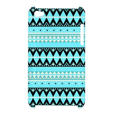 Frozen Crystal Aztec Geometric Tribal Pattern iPod Touch 4 4g 4th Case Cover