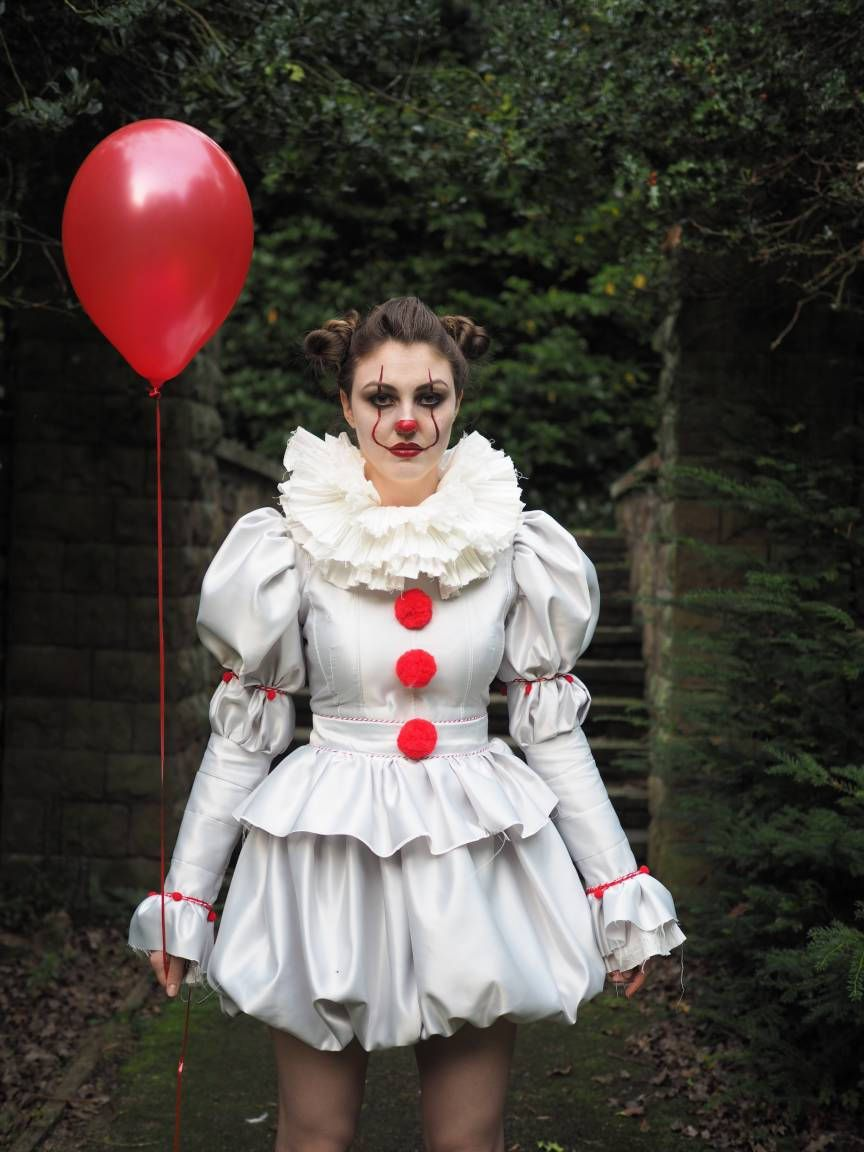 Pennywise Costume by Violet House Clothing on Etsy