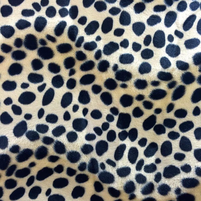 Taupe Dalmatian Dog Velboa Faux Fur Fabric Sold By The Yard 58 60 Faux Fur Fabric Fur Fabrics Dalmatian Dogs
