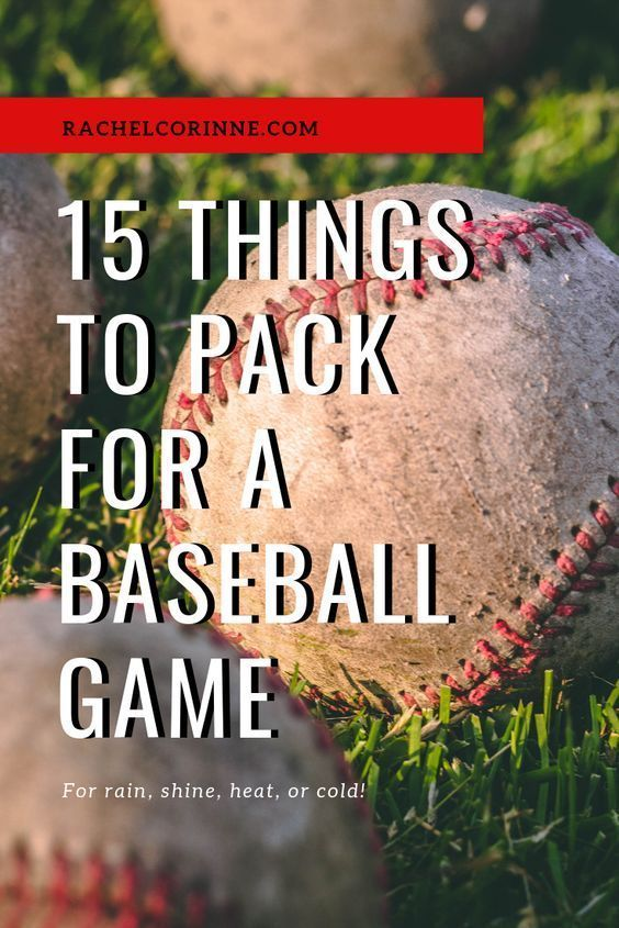 Photo of Top 15 Things to Pack For a Cincinnati Reds Game | Rachel Corinne