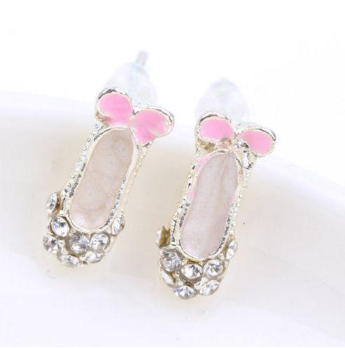 Ballerina Shoes Earrings