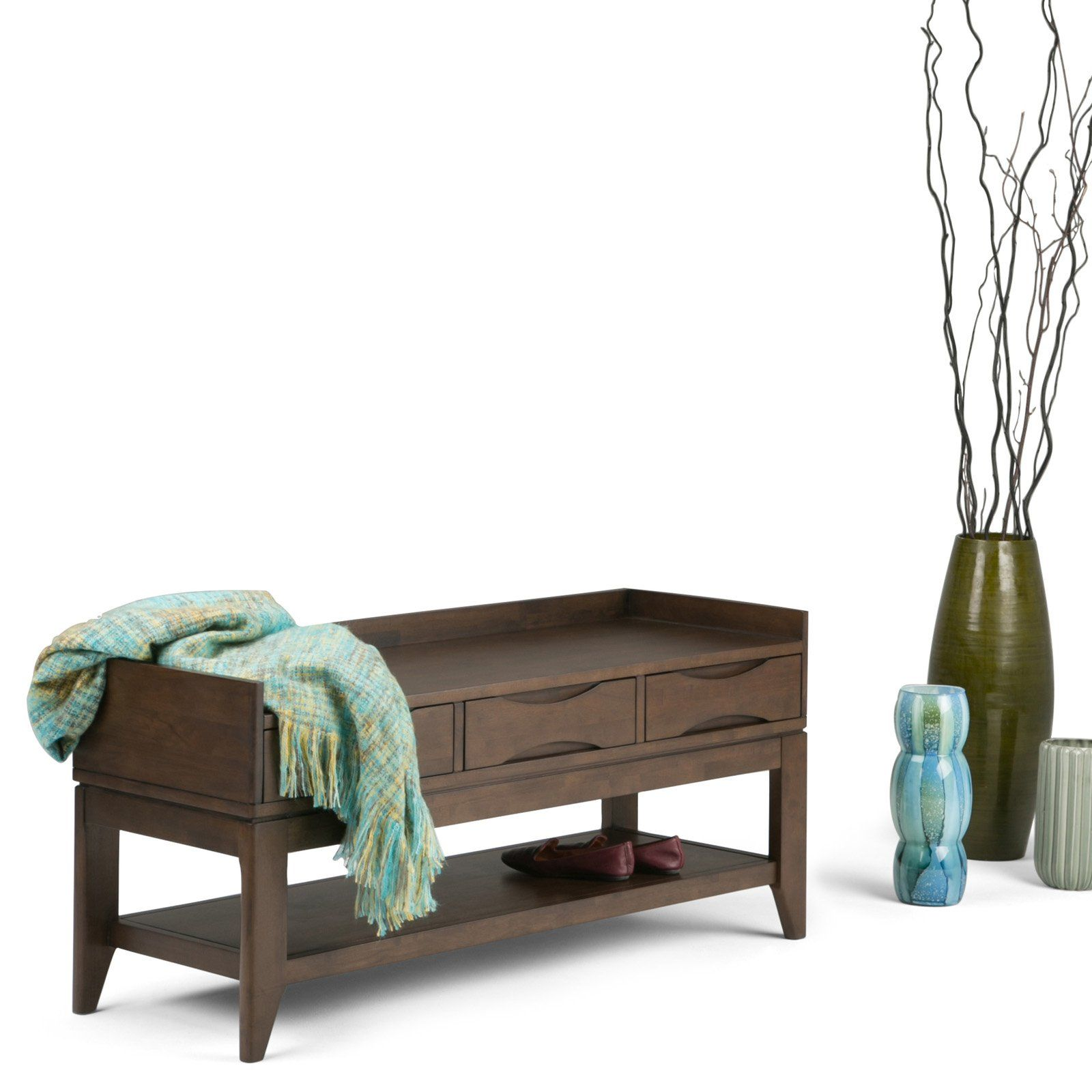 Simpli Home Harper Entryway Bench in 2019 Products