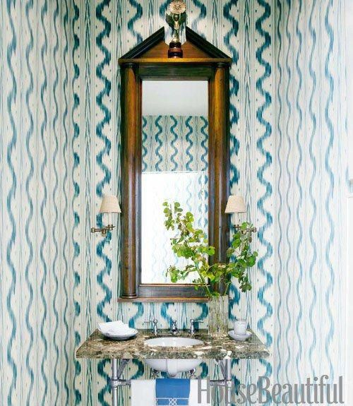 blue and white decorating blue and white rooms - Blue Cafe Decorating