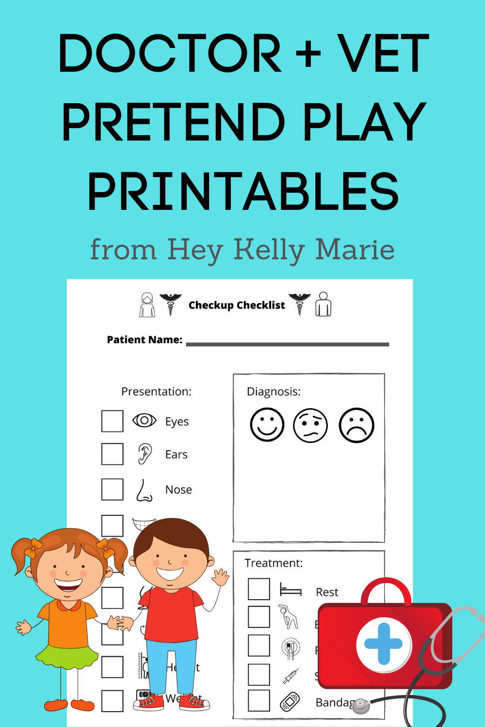Doctor And Hospital Dramatic Pretend Play Printable Pages Hey Kelly Marie Dramatic Play Printables Dramatic Play Preschool Dramatic Play Printables Free [ 1500 x 1000 Pixel ]