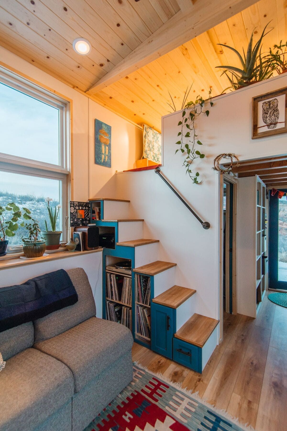 Photo of This luxurious tiny house does not hold back on function – it even has a