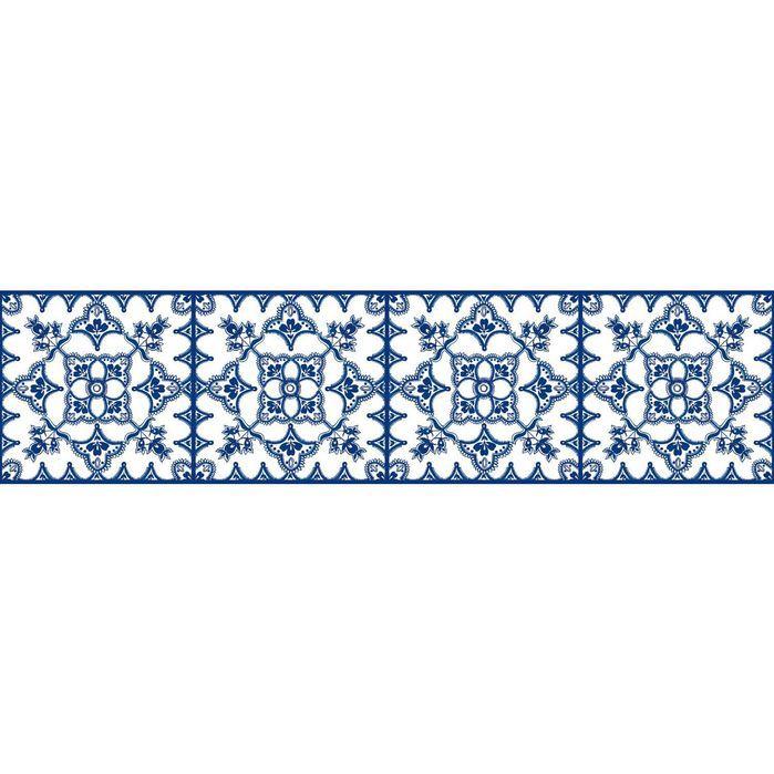 "Border Portfolio II Tangier 15' x 6"" Geometric Border"