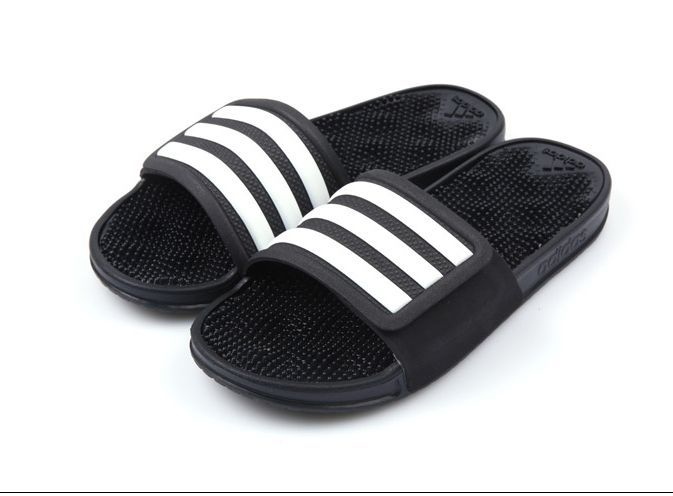 f789633ed2f5 Mens Adidas Sandal Adissage 2.0 Stripes (S78505) Adidas Beach Slippers