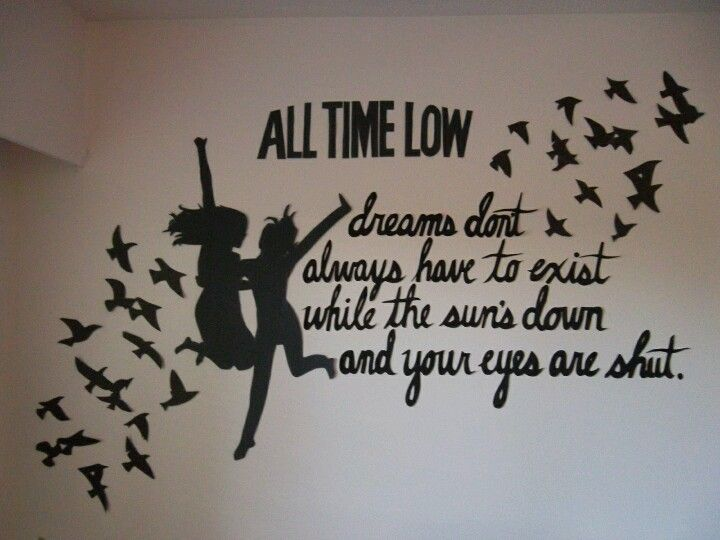 All Time Low Lyrics! I Really Love This Quote On My Collar