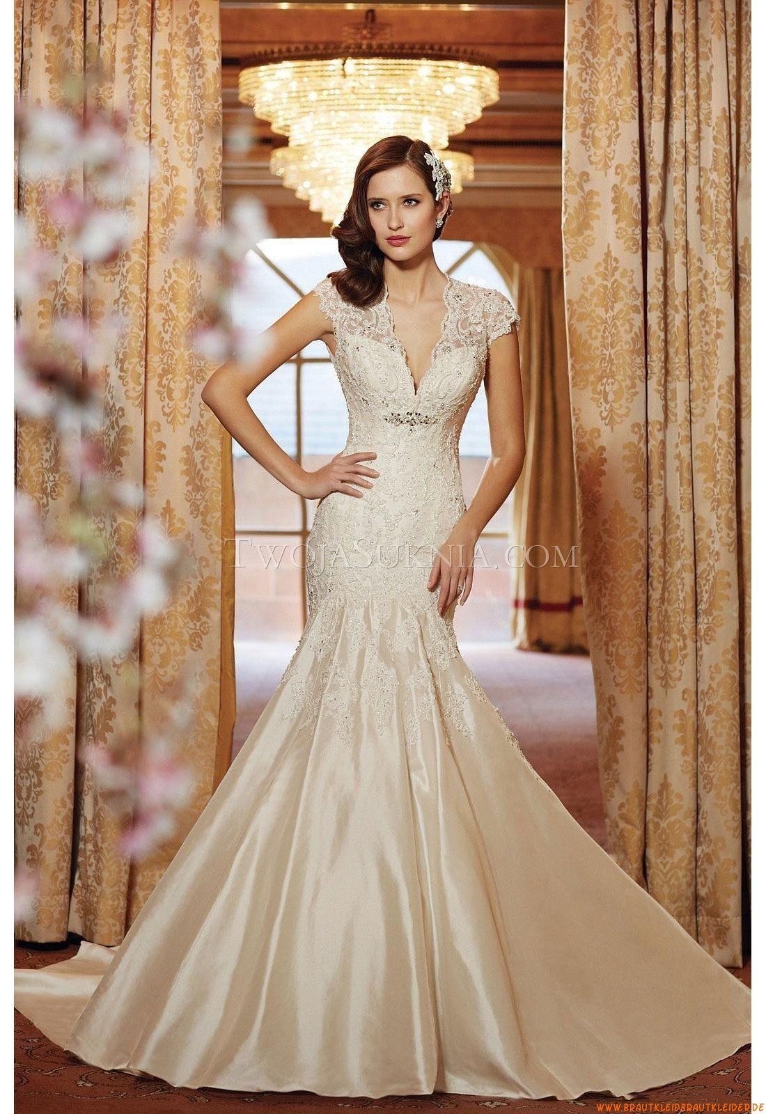 Satin Designer Brautkleider | out door bridal gowns | Pinterest ...