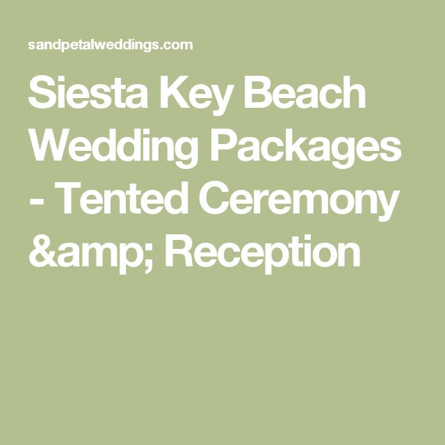 Siesta Key Beach Wedding Ceremony: Siesta Key Beach Wedding Packages