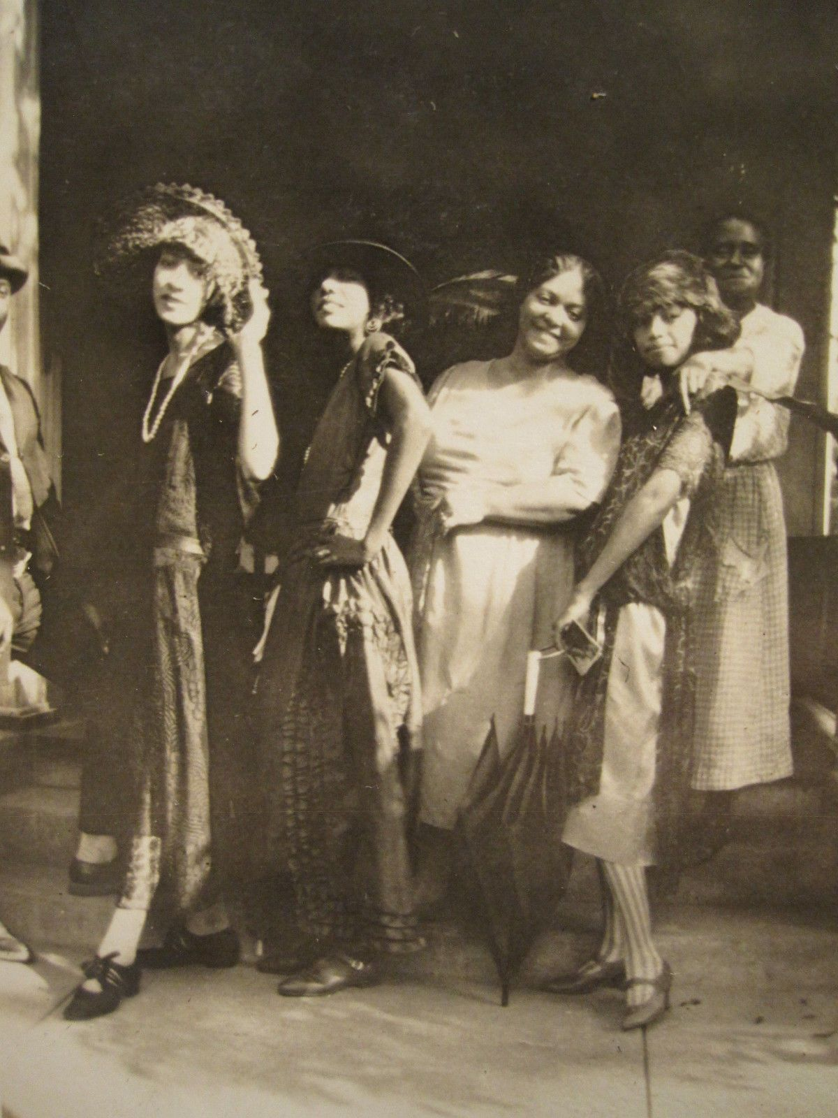 Antique African American Bowling Green Ky Flapper Girls Fashion Artistic Photos Vintage Black Glamour Flapper Girl African American