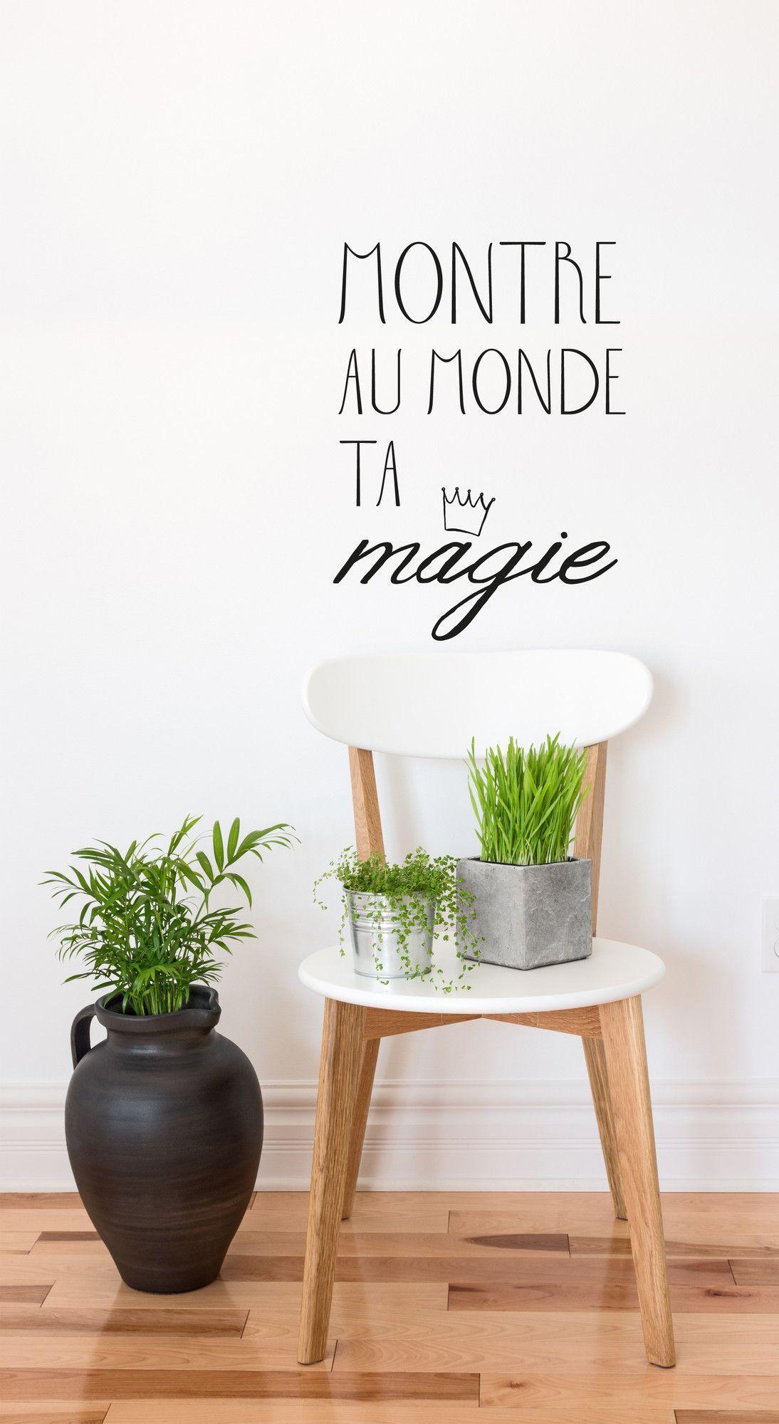 Blabla Montre Ta Magie FR Wall Decal